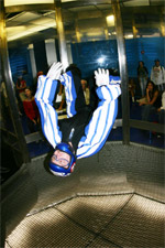 tunnel freefly back flying